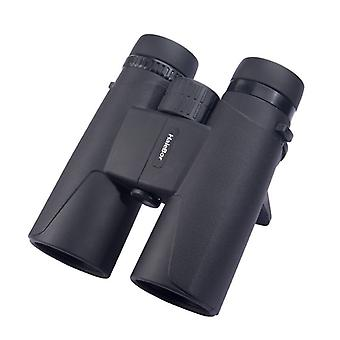 10X42 Compact Binoculars, Powerful Binoculars with Smartphone Adapter, BAK4 Prism FMC Vision Low Light Lenses, for Travel, Bird Watching, Concerts, Sports(black)