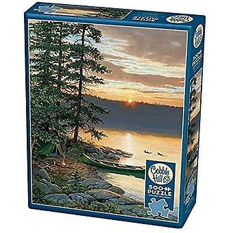 Cobble hill puzzle - canoe lake - 500 pc