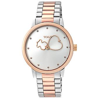 Tous watches bear watch for Women Analog Quartz with stainless steel bracelet 900350315