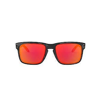 Oakley Holbrook 9102e9 Sonnenbrille, Braun (Black Camo), 57 Herren