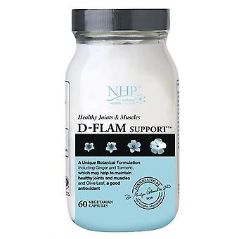 Natural Health Practice, D-Flam Support, 60 Capsules