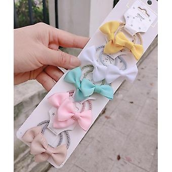 1 Set Kawaii Cartoon Prinzessin Baby Kinder elastische Gummibänder