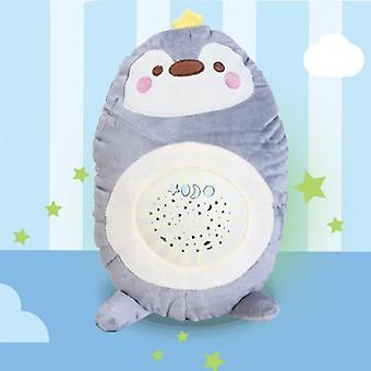 Baby Sleep Plush, Teddy Bear Projector With Music, Dolls Appease For Baby,