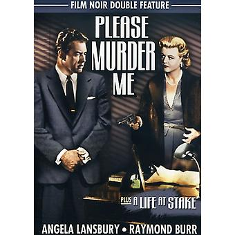 Please Murder Me (1956)/Life at Stake (1956) [DVD] USA import