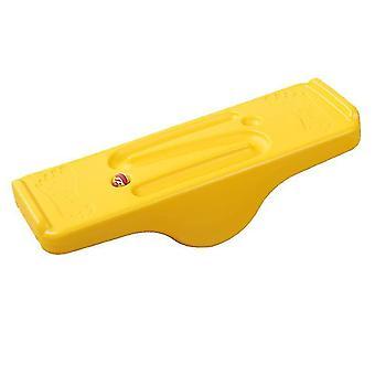 أرجوحة الأطفال الصفراء شهدت التوازن مجلس التوازن التوازن التدريب الحسي اللعب في الأماكن المغلقة والخارجية x4875