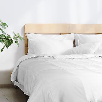 Royal Comfort Bamboo Blend Quilt 250GSM Luxury Doona Duvet 100% Cotton Cover