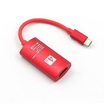 Rode type-c naar hdmi, 4k video type-c naar hdmi adapter voor mac notebook az9493