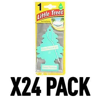 Ocean Paradise (Pack Of 24) Little Trees Air Freshener
