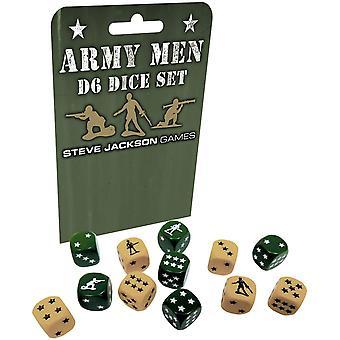 Armee Männer D6 Würfel Set