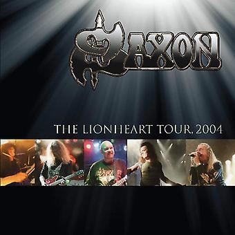 Saxon - The Lionheart Tour 2004 Edición Limitada Vinilo Oro