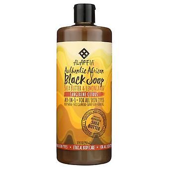 Alaffia Authentic African Black Soap, Citrus 16 Oz