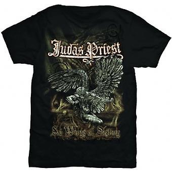 Judas Priest Sad Wings Mens T Shirt: Medium