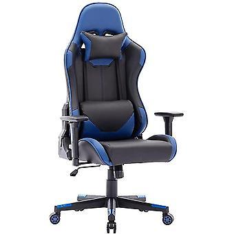 Racing Style Gaming Stuhl PU Leder Höher Rückenlehne Bürostuhl Ergonomisches PC-Stuhl mit