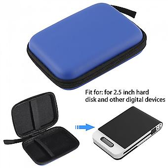 Hard Nylon Carry Bag Compartment Case Cover For 2.5'' Hdd Hard Disk Case