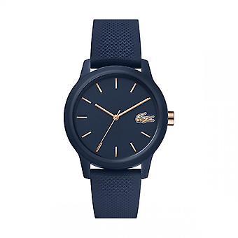 Montre Lacoste LACOSTE.12.12 2001067 - Montre Affichage Analogique Bracelet Silicone Bleu Femme