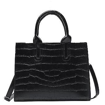 Bags for Women Female Black Handbags Shoulder Ladies Winter Pu Leather Crossbody Totes Purses