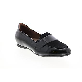 Earthies Adult Womens Bremen Crinkled Patent Loafer Flats