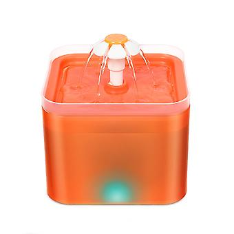 Pet Cat Water Fountain Automatic Cat Water Feeder Electric Water  Dispenser Container