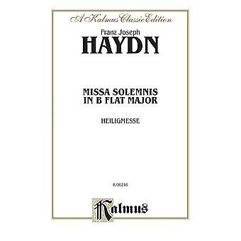 Haydn: Heiligmesse Missa Solemnis