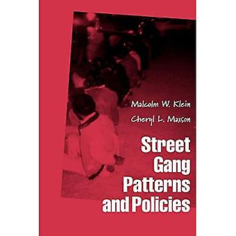 Street Gang Patterns and Policies