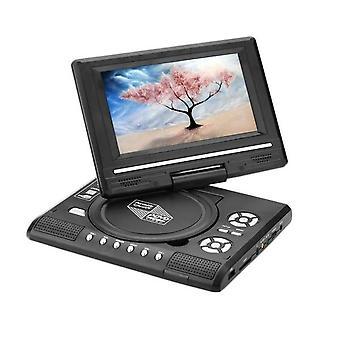ポータブルDVDプレーヤー7.8インチHDテレビホームカーDVDプレーヤーVCD CD MP3 DVDプレーヤー
