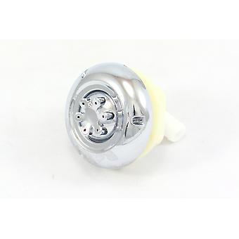 Round Adjustable Shower Body Water Jet - 6 Spray Nozzle (Two Way)