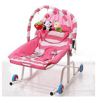 Baby Rocking Chair Cradle Rocker Bouncer Recliner &