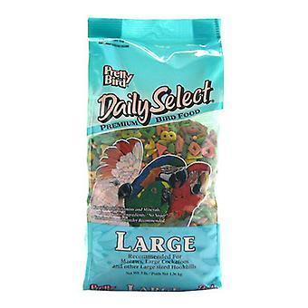 جميلة الطيور اليومية حدد بريميوم الطيور الغذاء - كبير (3 رطلا)