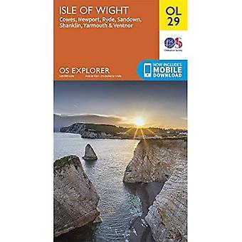 Isle of Wight (OS Verkenner)