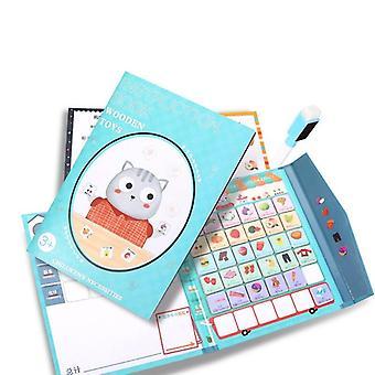 Holz Magnetisches Puzzle Buch Brettspiel Kognitive Gedächtnisliste Spielzeug Geschenk| Rätsel