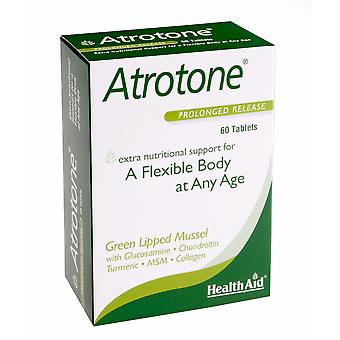 Health Aid Atrotone (Green Lipped Mussel, MSM, Collagen Type II ++) - Blister Pack, 60 Tablets