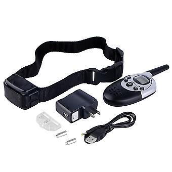 1000 Yard Rechargeable Waterproof Lcd Shock Vibra Remote Pet Training Collar