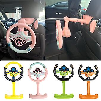 Elektrische Simulation Lenkrad Spielzeug mit Licht und Ton Pädagogische Kinder Co-Pilot Kinder Auto Spielzeug Gesang Spielzeug Geschenk