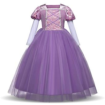 Princess Dress Fancy Costume Role Play Ball Gown Halloween Party