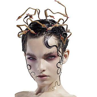 Halloween Snake Hodebånd Medusa Cosplay Hårbånd For Karneval Maskerade