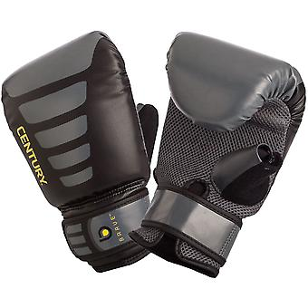 Century Brave Hook and Loop Boxing Oversized Bag Gloves - Black/Gray