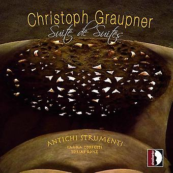 C. Graupner - Christoph Graupner: Suite De Suites [CD] USA import