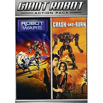 Krasj & brenne/Robot Wars [DVD] USA import