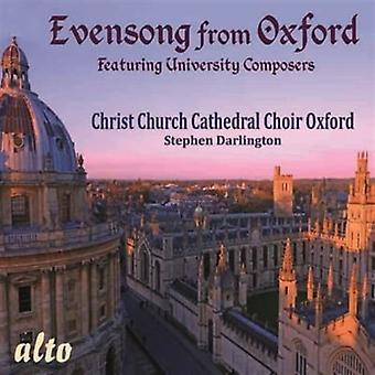 Christ Church Cathedral Choir Oxford - Evensong From Oxford [CD] USA import