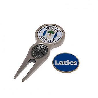 Wigan Athletic turve työkalu & merkki