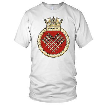 Royal Navy HMS Gleaner damer T Shirt