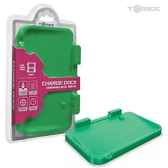 Podstavec pro nabíjení baterie Nintendo 3DS XL základna-zelená podle Tomee