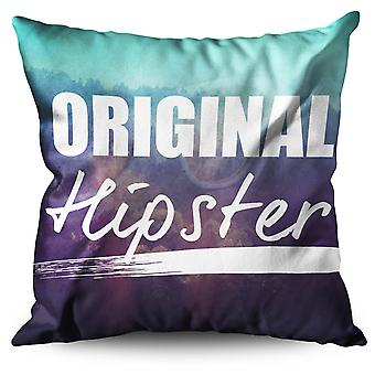 Unique Hippie Linen Cushion 30cm x 30cm | Wellcoda