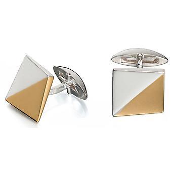 925 srebro złoto pozłacane modne spinki