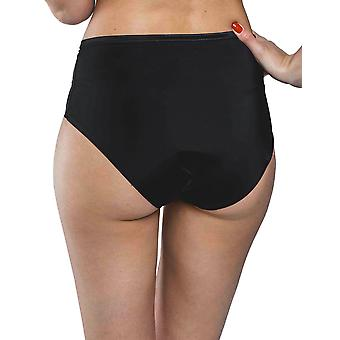 Maison Lejaby 5564M-04 Women's New Nuage Pur Black Knickers Panty Full Brief
