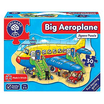 Sad duży samolot Puzzle