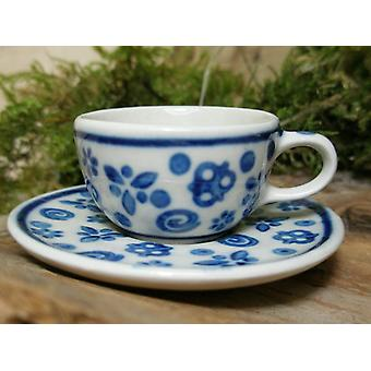 Cup with saucer, miniature, tradition 12, Bunzlauer pottery - BSN 6926