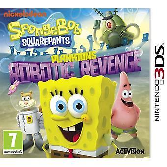 Spongebob Squarepants Planktons Robotic Revenge (Nintendo 3DS) - Als nieuw