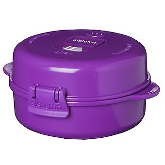 Sistema Microwave Easy Eggs To Go, Purple