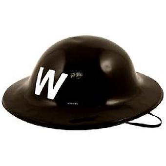 Plastic Warden Helmet